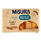 Misura - Cornetti Classici, senza Latte e Uova - 240 g 6 cornetti - [confezione da 4]