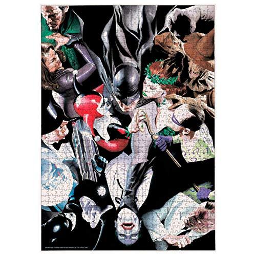 BricoLoco. Puzzle Batman y enemigos. Puzzle de 1000 piezas.