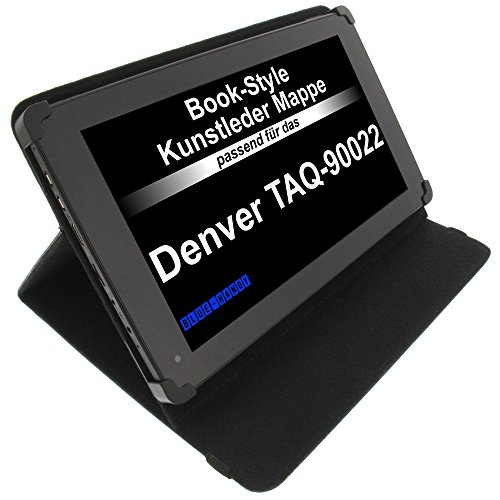 foto-kontor Tasche für Denver TAQ-90022 TAQ-10162 TAQ-10153 TAQ-10223G TAQ-10192G BookStyle Tablettasche Schutz Hülle