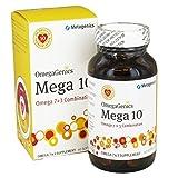 Omegagenics Mega 10 60 Softgels By Metagenics