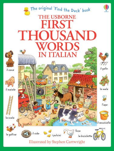 First Thousand Words In Italian - Usborne New Edition
