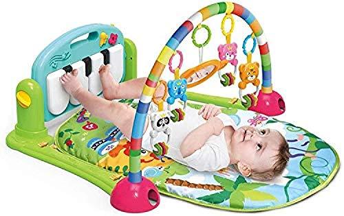 ZHJIUXINGZD Gimnasio De La Actividad De La Estera del Juego del Bebé, Gimnasio del Piano del Golpe Y del Juego, Juguetes Desmontables del Bebé