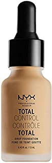 Nyx Professional Makeup Total Control Drop Foundation, True Beige, 0. 43 Fluid Ounce