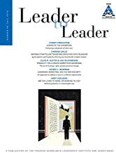 Leader to Leader (LTL), Volume 82, Fall 2016 (J-B Single Issue Leader to Leader)