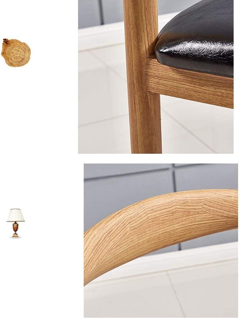 YANFEI Chaise De Coin Nordique for La Maison, Couleur Noyer, PU, D-810 (Color : A) A