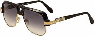 ef7444d79c Cazal 672 001SG Matte Black Gold   Grey Gradient Sunglasses 59 mm