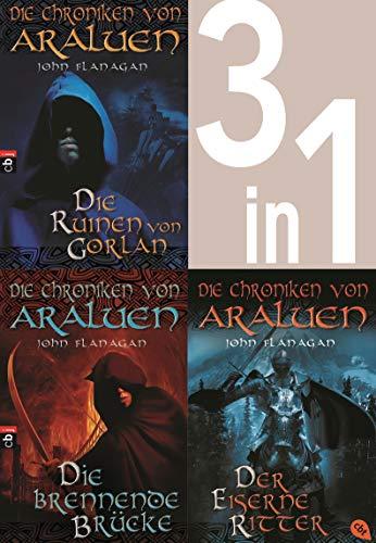 Die Chroniken von Araluen 1-3: - Die Ruinen von Gorlan / Die brennende Brücke / Der eiserne Ritter (3in1-Bundle): Drei Romane in einem Band