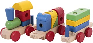 Canoe 3-Piece Wooden Train Toy, Set of 6 - CT181216RJ08