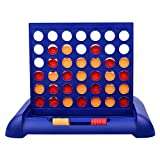 Juego Conecta 4 Juego Cuatro En Raya Niños y Chicas Juego De Habilidad Conecta 4 Juego De Mesa para 2 Jugadores 23 X 3.5 X 19.5CM Regalo para Niños Adultos
