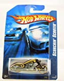 Hot Wheels - 2006 - Scorchin' Scooter - Purple / Yellow - #183/223 - Limited Edition - Collectible 1:64 Scale