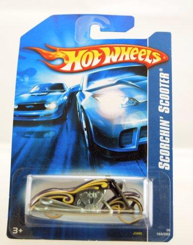 Hot Wheels - 2006 - Scooter Scorchin' - Púrpura / Amarillo - #183/223 - Edición Limitada - Coleccionable escala 1:64