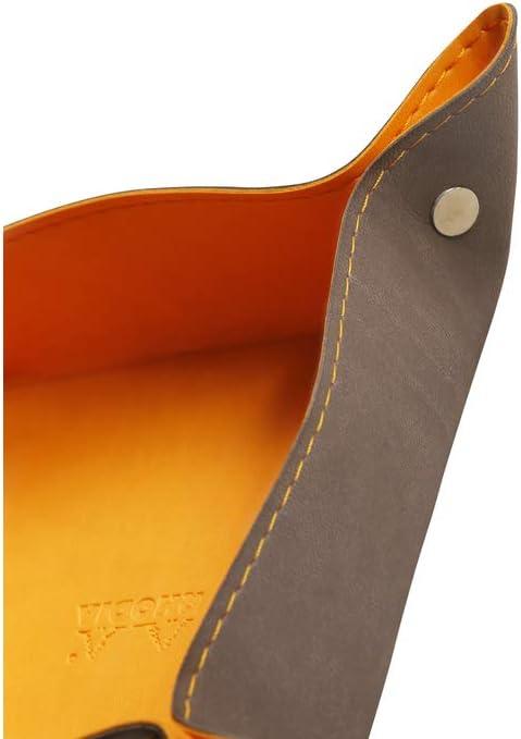 Clairefontaine Rhodiarama/ /Vac/íabolsillos de cuero sint/ético italiano 12/x 12/x 4,5/cm color turquesa