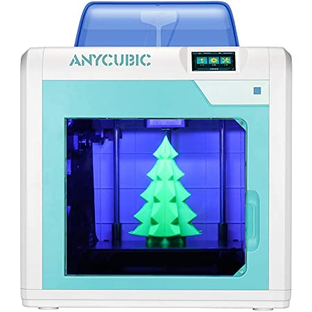3 idea Imagine Create Print ANYCUBIC 4Max Pro 3D Printer with Ultra Base Heatbed, Filament Sensor, Resume Print Function, Compatible with TPU/PLA/ABS/HIPS/WOOD Filaments   Build Size 270x205x205mm