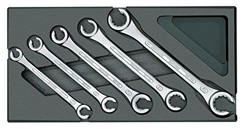 GEDORE 1500 ES-400 Doppelringschlüssel-Satz, offen, in 1/3 ES-Modul