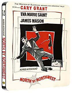 North By Northwest Steelbook (Blu-ray + UV Copy) [1959] [Region Free] (B00A6UH9PS) | Amazon price tracker / tracking, Amazon price history charts, Amazon price watches, Amazon price drop alerts