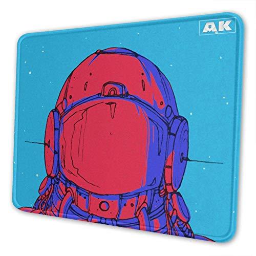 Mausepad Neon Onyx - Reds Rutschfester Computer Mit Genähter Kante Mausmatte Laptop Office Mouse Pad Home Mousepad Schule 25X30Cm Desktop Anime Geschenk Schlafsaal Spiel Student