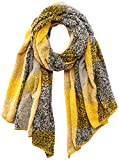 ONLY Damen ONLLIMA Scarf NOOS Schal, Grau (Light Grey Melange Detail: Check Golden Spice), (Herstellergröße: One Size)