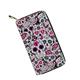 Mumeson Boho Style Women Travel Wallet Long Coin Purse Clutch Cell Phone Case, P2816, One Size