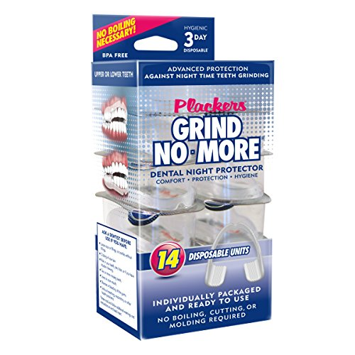 Plackers Grind No More Dental Night Guard for Teeth...