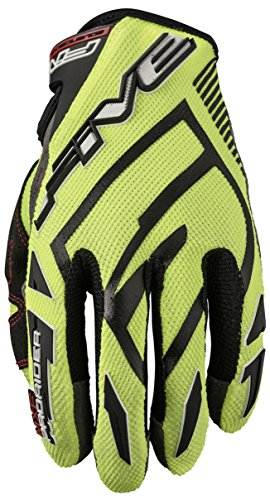 Five Advanced Gloves MXF Pro Rider S Erwachsene Handschuhe Flo Yellow/Black, Größe 08
