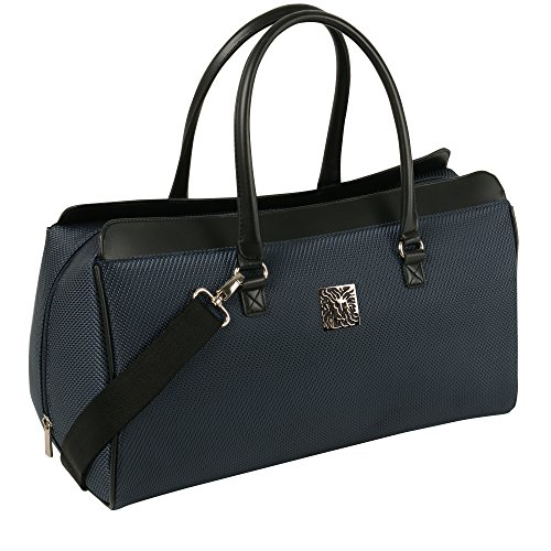 Anne Klein Oslo Carry All Satchel, Navy, One Size