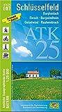ATK25-E07 Schlüsselfeld (Amtliche Topographische Karte 1:25000): Burghaslach, Geiselwind, Ebrach, Burgwindheim, Rauhenebrach, Steigerwald (ATK25 Amtliche Topographische Karte 1:25000 Bayern)