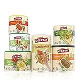 GEFRO Würz-Set verschiedene vegane Würze für Fleisch, Gemüse, Rohkost & Salate