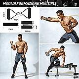 Zoom IMG-2 omorc elastico fitness elastici pettorali