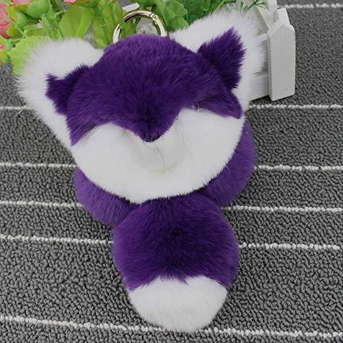 ERS Pretendiendo Dead Plush Rabbit Hang-up Little Fox Doll Mochila Femenina Linda