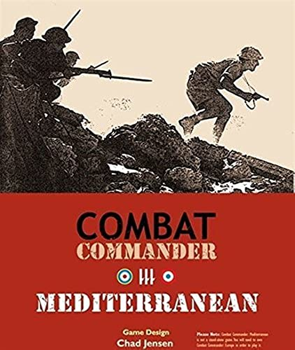 oferta de tienda Combat Commander Mediterranean (2nd (2nd (2nd Printing) SW (MINT New) by GMT Games  Web oficial