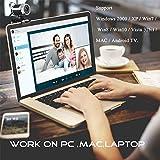 Zoom IMG-2 docooler webcam usb desktop web