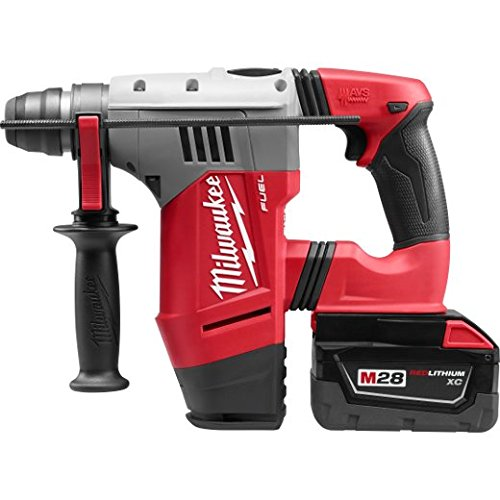 Check Out This Milwaukee 0757-22 M28 Fuel 1-1/8 SDS Plus Rotary Hammer Kit