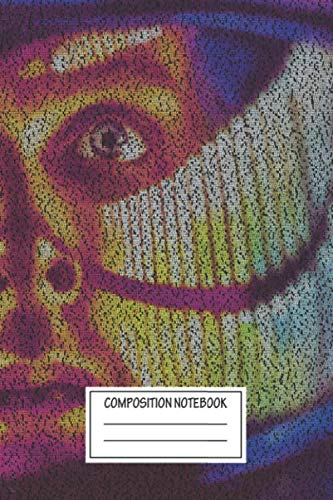 Composition Notebook: Tv Shows Dave V1 A Of Dave Bowman Of 01 A Space Odys Typographic Portraits Wide Ruled Note Book, Diary, Planner, Journal for Writing
