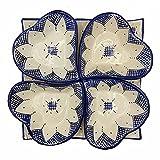 Arredamento Etnico Antipastiera Piatto Ceramica Terracotta Marocchina 1705211008