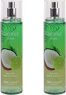 Vital Luxury Signature - Fragrance Mist - Coconut Lime,8 Fl,Oz,Pack 2