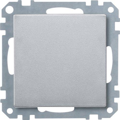 Merten 391860 Blindabdeckung, aluminium, System M