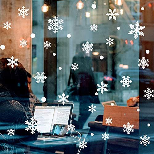 Autocollants fenêtre flocons de neige