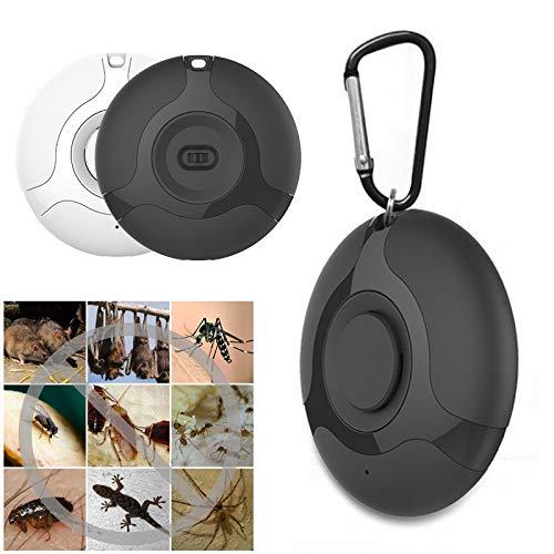 ZXCV Répulsif ultrasonique portatif d'USB répulsif d'oiseau répulsif Animal Tueur de Moustique, répulsif ultrasonique électronique de Souris,Blanc