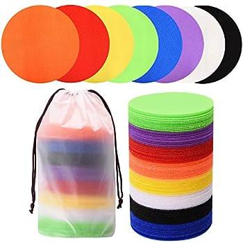 Carpet Makers 80 PCS - Multicolor Spot Markers for Classroom Magic Carpet Spots Circles Dots for Kids Teachers Preschool and Kindergarten