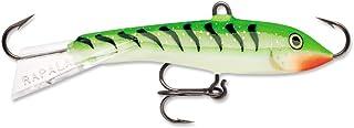 Rapala Jigging Rap 02 Fishing lure, 1.25-Inch, Glow Green Tiger
