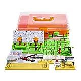 MZH Modelo de Ciencia educativa Juguetes de Aprendizaje - DIY Kit de Circuito eléctrico Experimento de Electricidad y magnetismo para niños Estudiantes de Escuela Electromagnetismo Electrónica