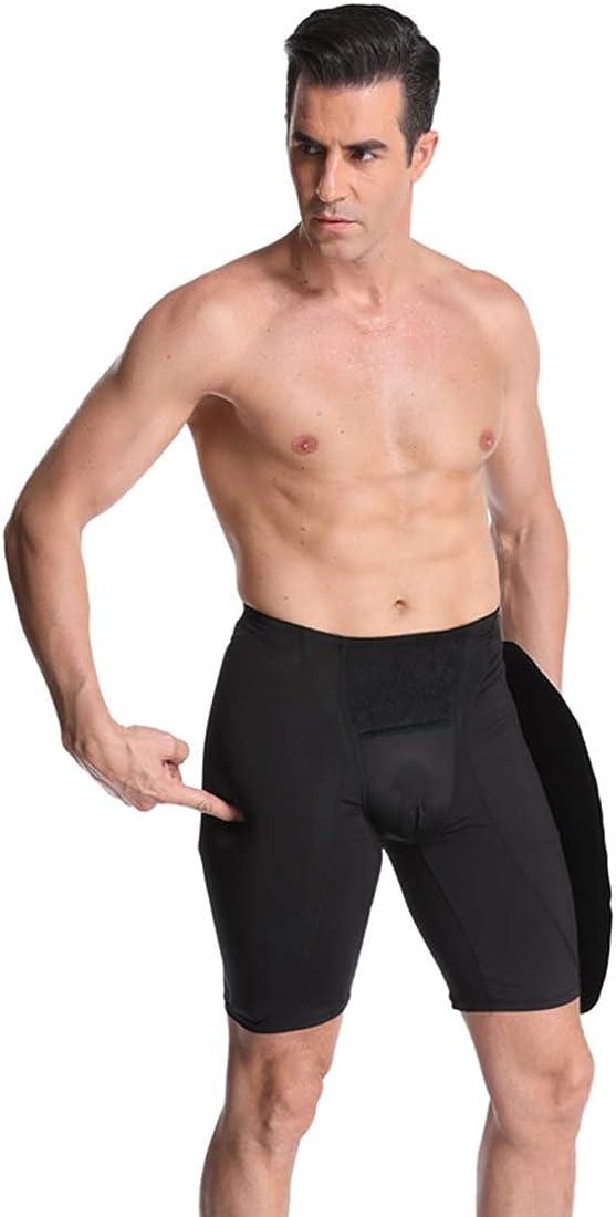Surrui Men Butt Lifter Shapewear Butt Shaper Boxer Padded Enhancing Gaff Underwear