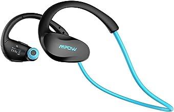 Mpow Cheetah Auriculares Estéreo In-ear Deportes Tecnología aptX Avanzada Bluetooth 4.1 Correr Cascos Deportivos Manos Libre, Auricular Inalámbrico para iPhone,iPad,Teléfono Móvile Android-Azul