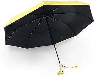XEDUO Cute DUCK Rain Coat UFO Children Umbrella Hat Magical Hands Free Raincoat