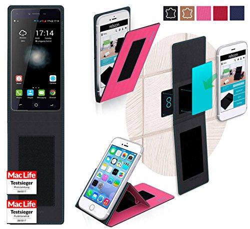 reboon Hülle für Switel eSmart H1 Tasche Cover Case Bumper | Pink | Testsieger