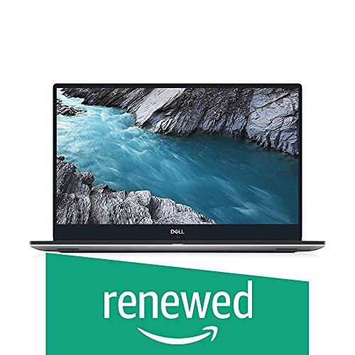 Dell XPS 9570 Laptop 15.6in FHD i7-8750H CPU 16GB RAM 512GB SSD GeForce GTX 1050Ti Thin Bezel 400 Nits Display Silver Windows 10 Home XPS9570-7996SLV-PUS (Renewed)