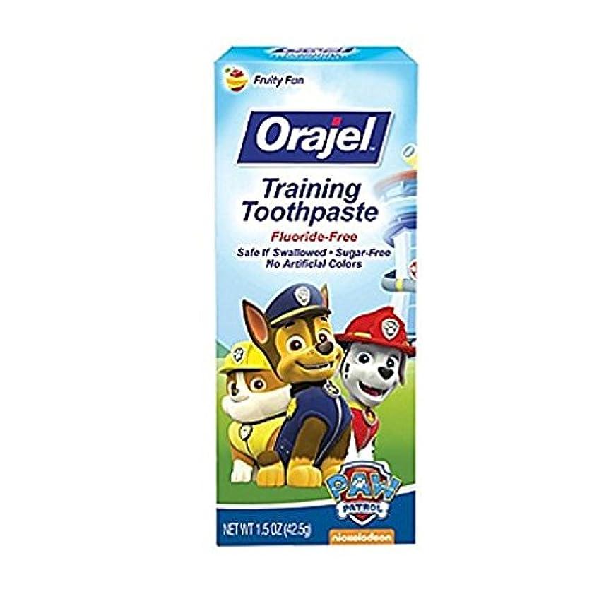 ドレスクマノミ交流するOrajel 幼児教育ハミガキTootyフルーティーなフレーバー1.50オズ