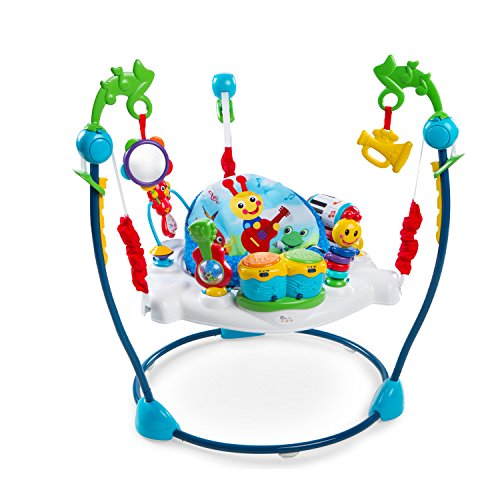 Baby Einstein Neighborhood Symphony Activity Jumper with Lights and Melodies, Ages 6 months +