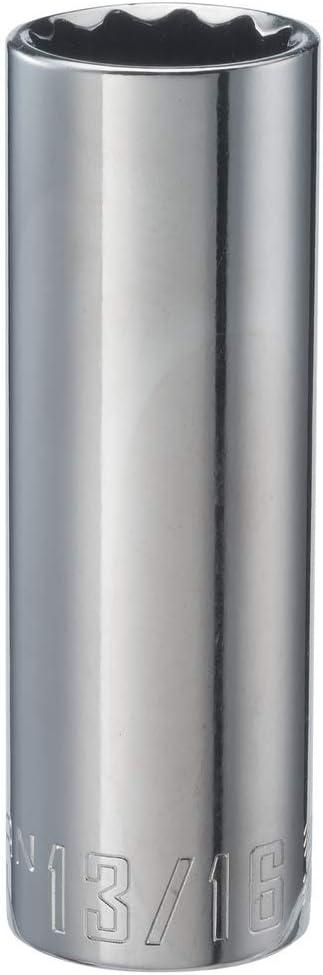 SAE CMMT47527 13//16-Inch CRAFTSMAN Deep Socket 1//2-Inch Drive 12-Point