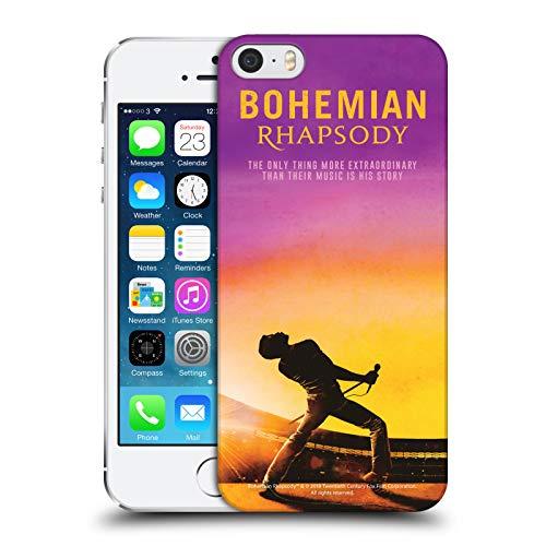 Head Case Designs Ufficiale Queen Poster Icona Film Bohemian Rhapsody Cover Dura per Parte Posteriore Compatibile con Apple iPhone 5 / iPhone 5s / iPhone SE 2016